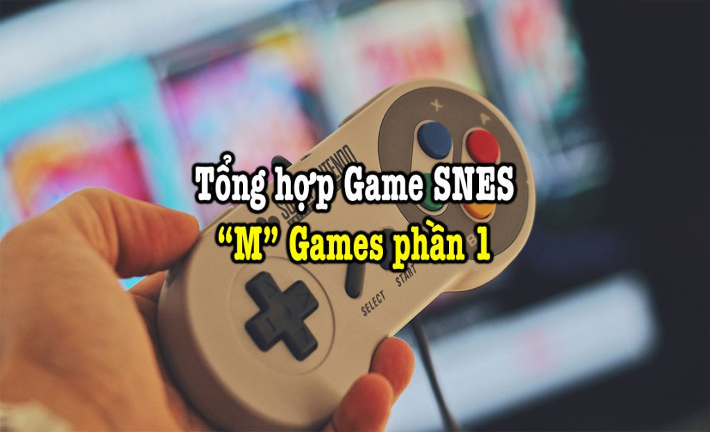 game SNES hay phần 20