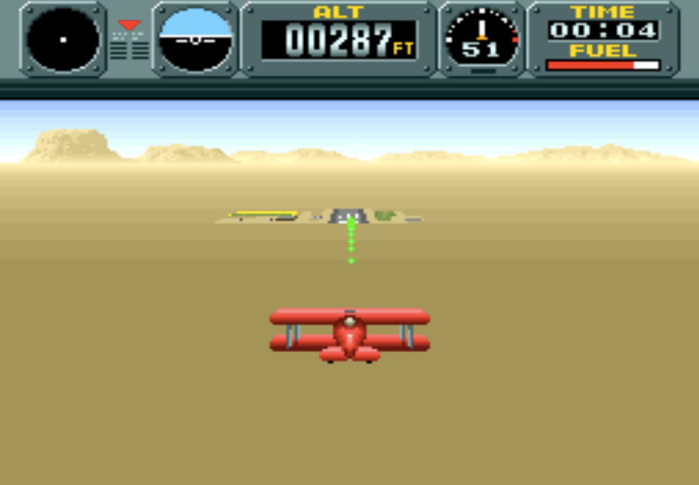 game SNES hay phần 23 Pilotwings