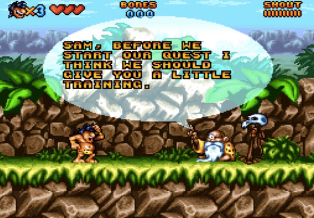 game SNES hay phần 24 Prehistorik Man