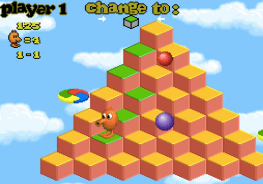 Q-bert 3 game SNES hay phần 24