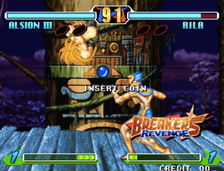 Breaker's Revenge Neo Geo Games P1