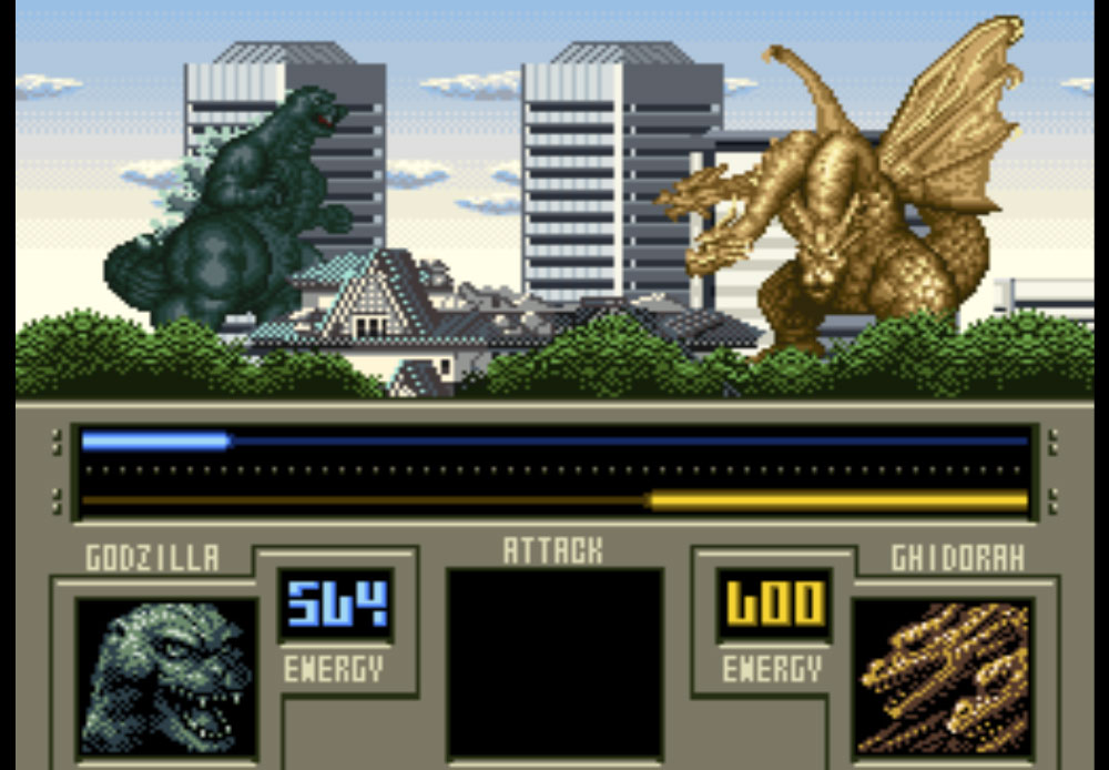 Super Godzilla game SNES hay phần 30