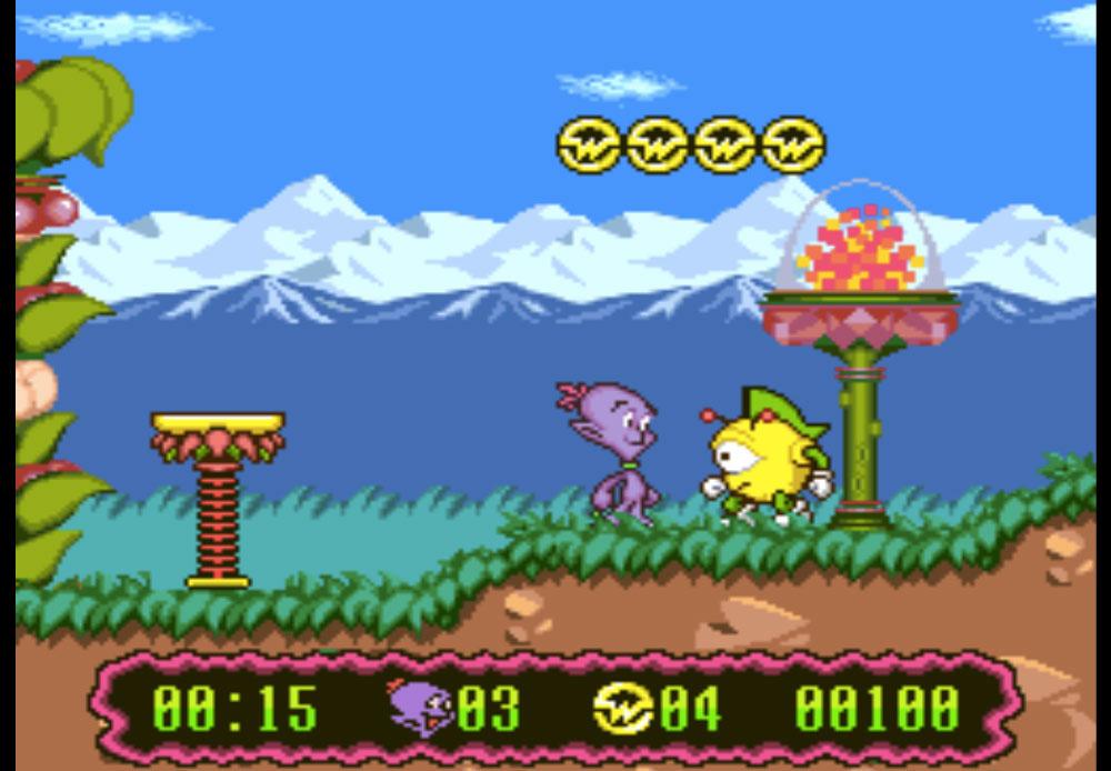 Super Widget game SNES hay phần 31
