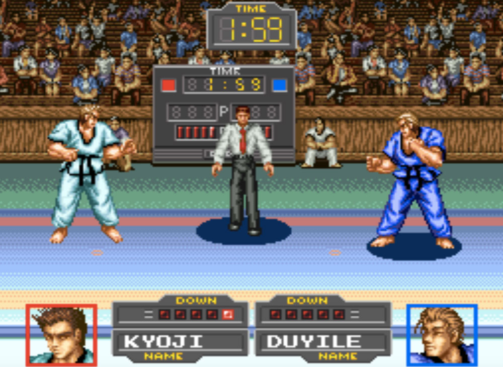 game SNES hay phần 32 Taekwon-Do