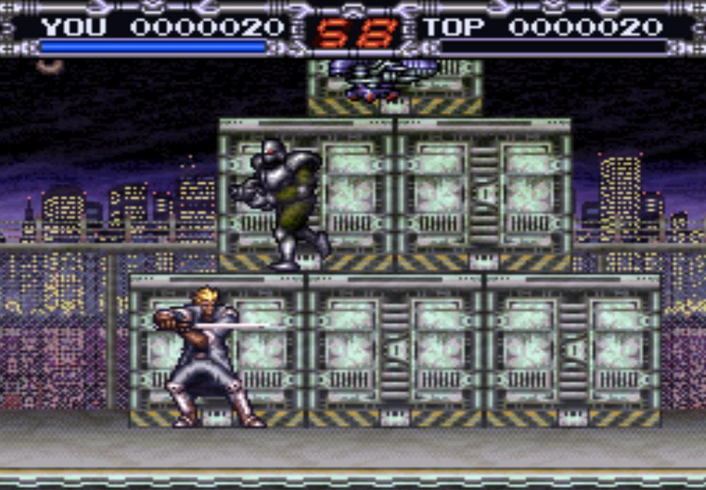 X-Kaliber 2097 game SNES hay phần 34