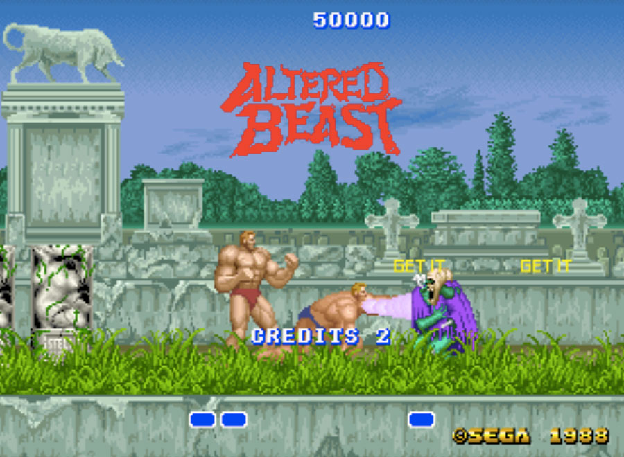 Altered Beast MAME Games P2