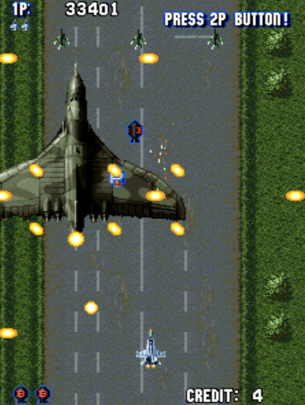 Aero Fighters Mame Games P1