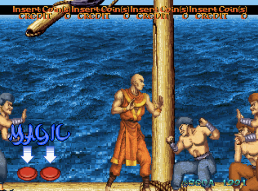 Arabian Fight MAME Games P2