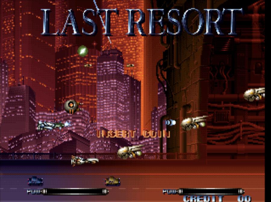 Last Resort Neo Geo Games P2