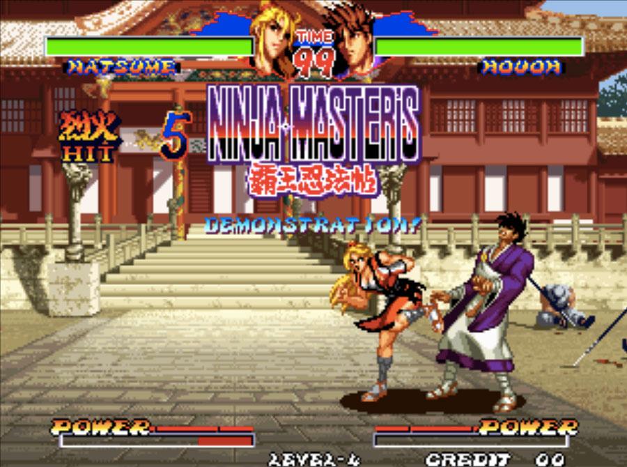 Ninja Master's Neo Geo Games P2