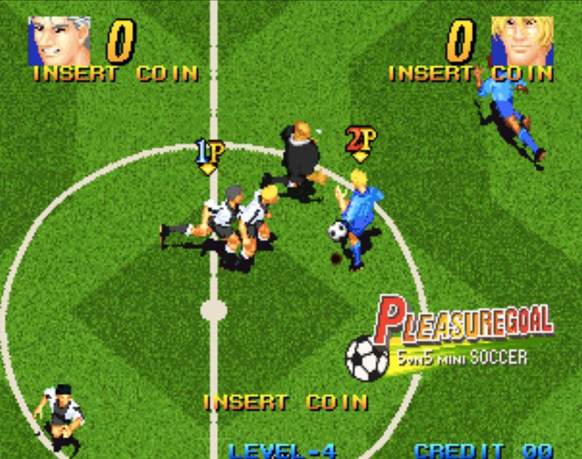 Pleasure Goal Neo Geo Games P3