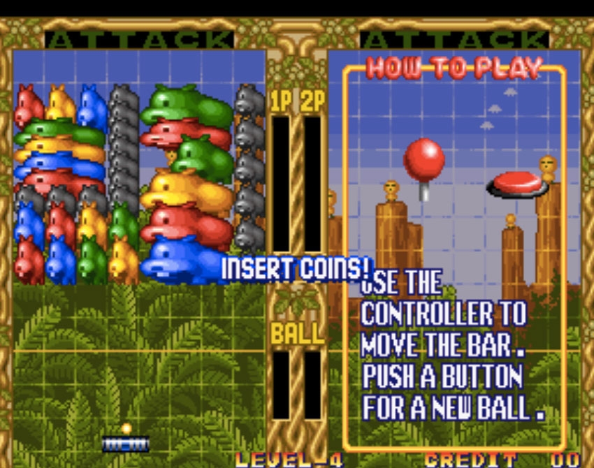 Pop 'n Bounce Neo Geo Games P3
