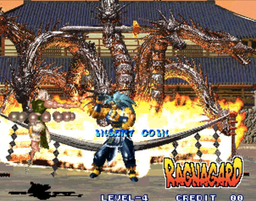 Ragnagard Neo Geo Games P3