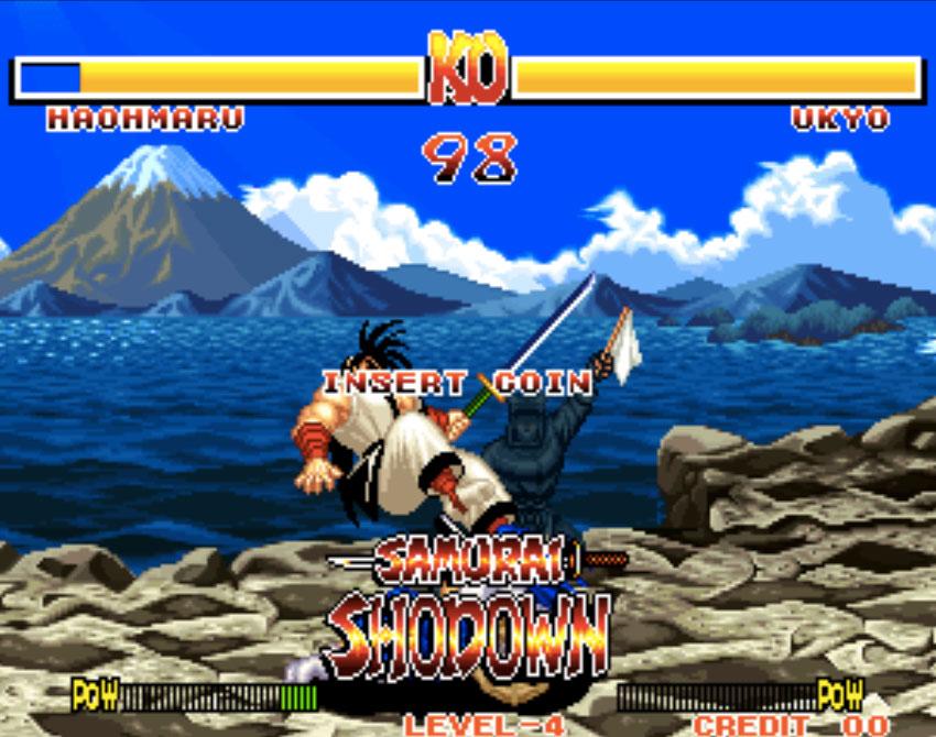Samurai Shodown Neo Geo Games P4