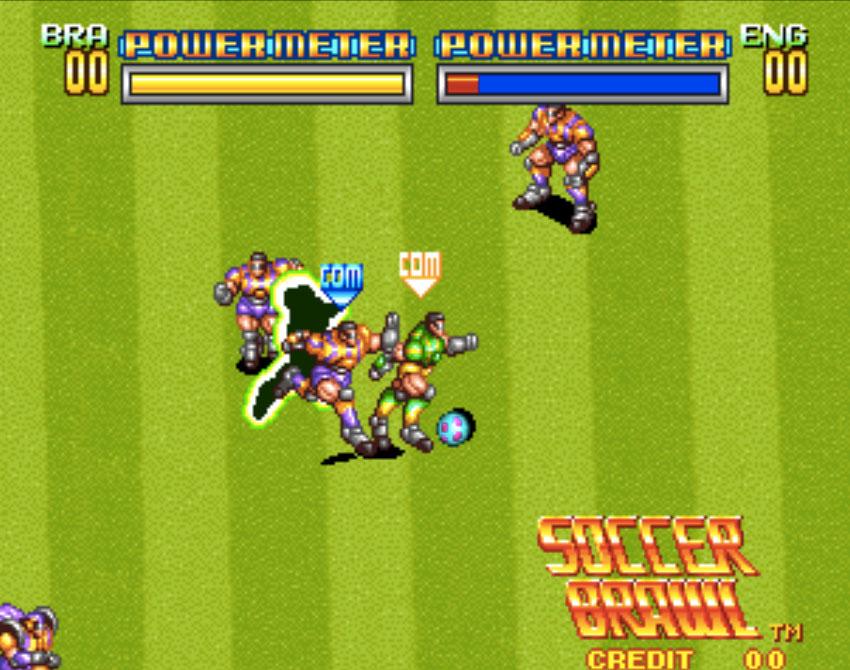 Soccer Brawl Neo Geo Games P4