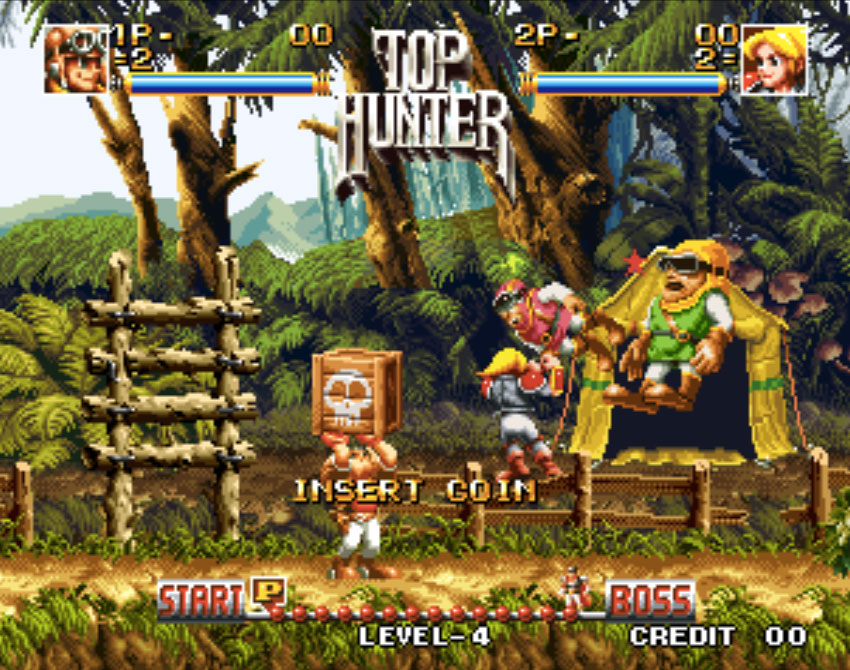 Top Hunter Neo Geo Games P5