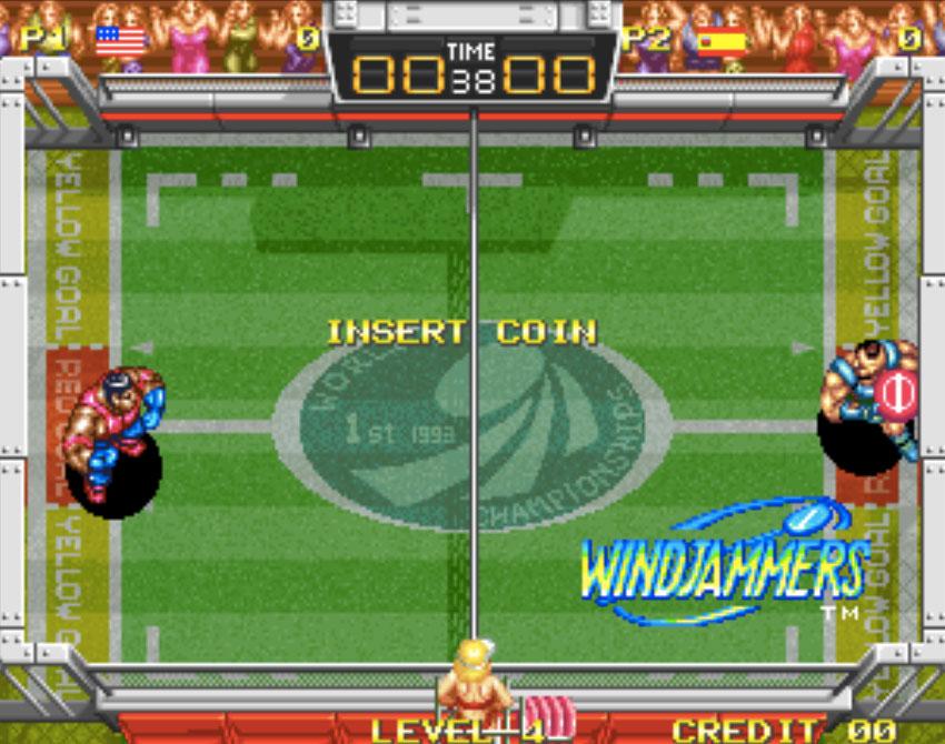 Wind Jammers Neo Geo Games P5