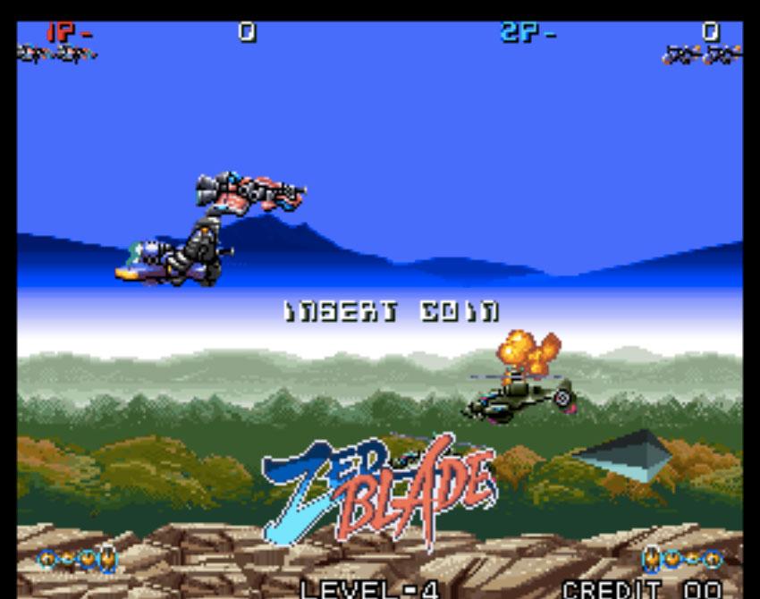 Zed Blade Neo Geo Games P5