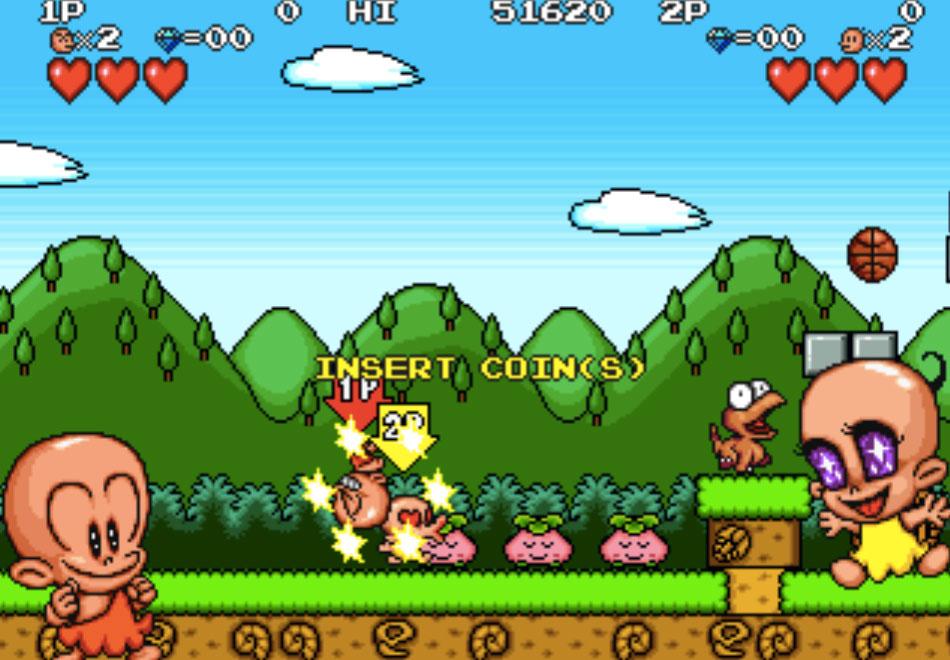 Bonk's Adventure MAME Games P3