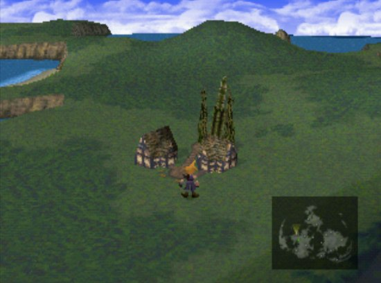 Final Fantasy VII Rocket Town