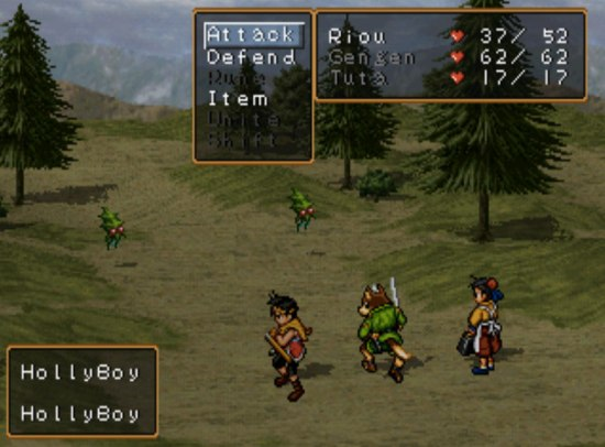 Suikoden II Battle System