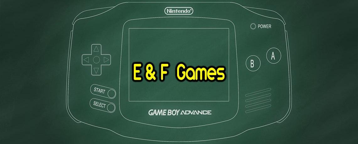 Tổng hợp Gameboy Advance – GBA ROM #6