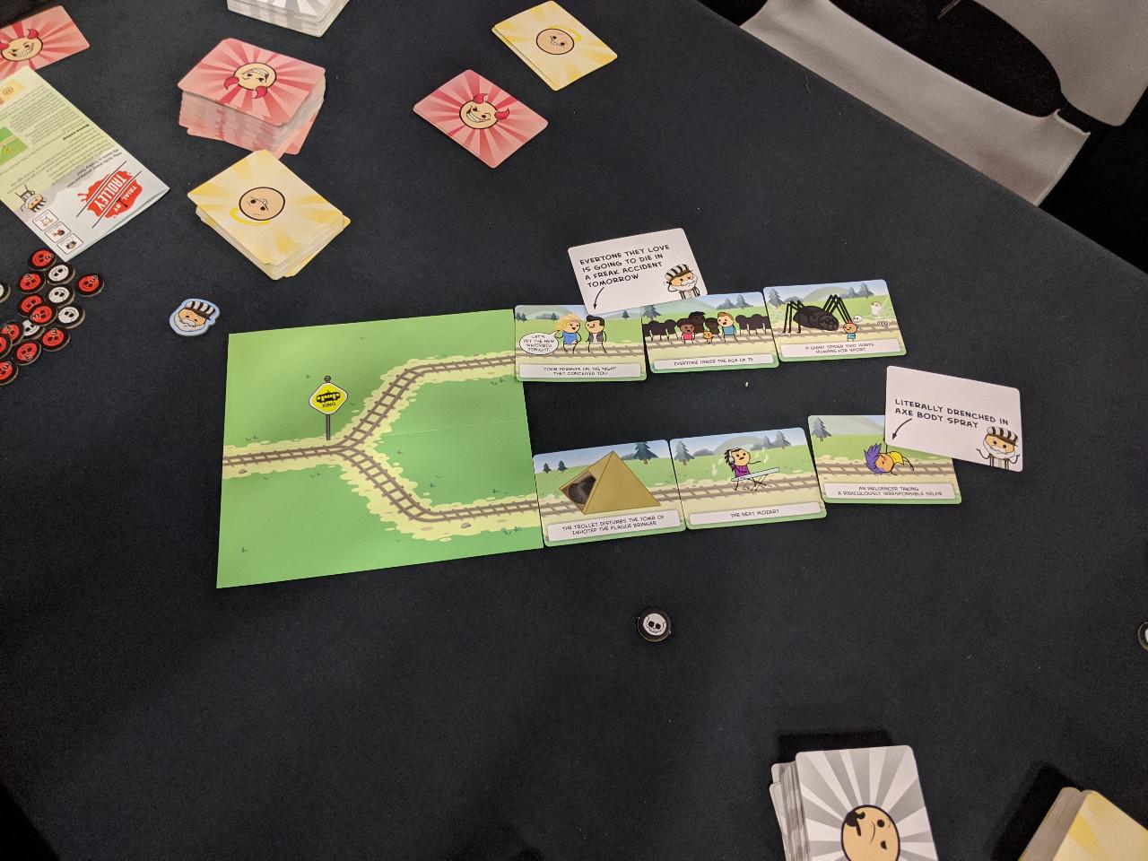 Board Pax Trial By Trolley