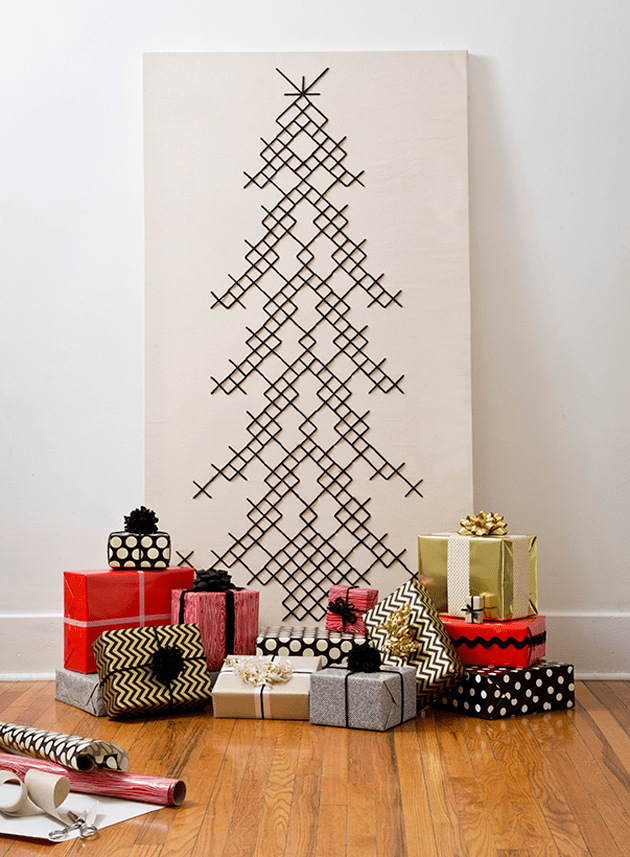 10 DIY Alternative Christmas Trees The Crafted Life