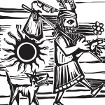 The Fool has become my social media mascot. Fool. Sun. Dog. Image licensed at canstockphoto. csp6440045 by artist Xochicalco.