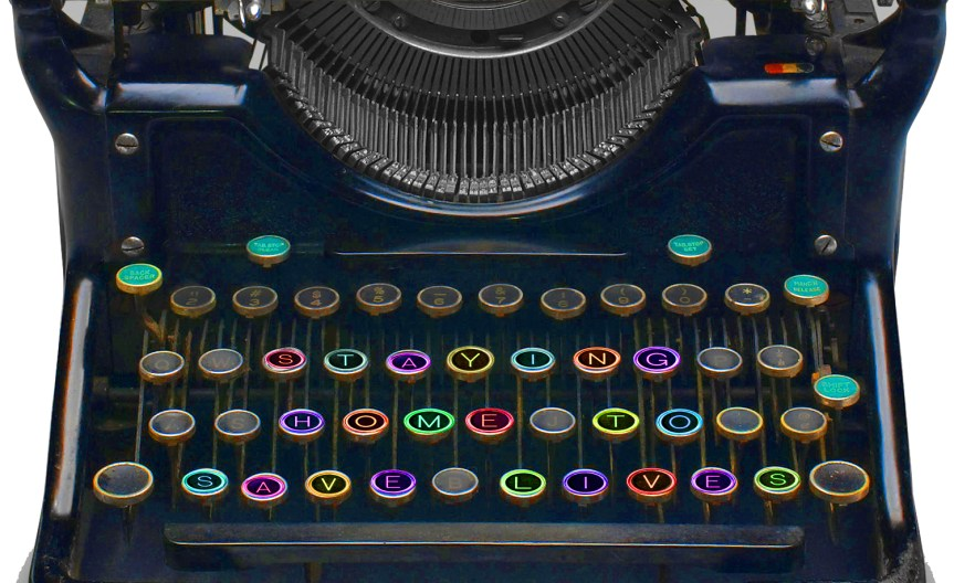 The typewriter image is a Photoshop mashup by CV Grehan, using Canstock images csp4143804 by artist Babar760, and csp9881185 by artist mcarrel, with embellishments by CV