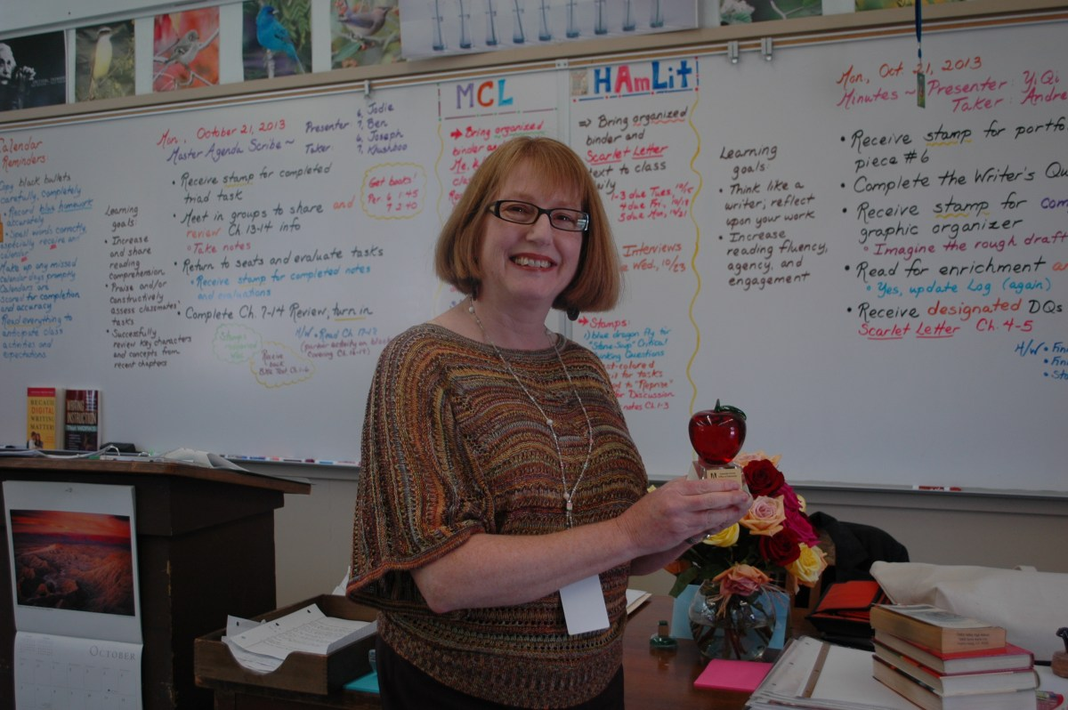 LePell wins Teacher of the Year Award for the second time