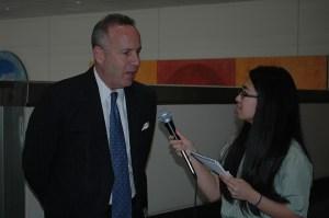 Suzanna Chak interviews Senator Darrell Steinberg.