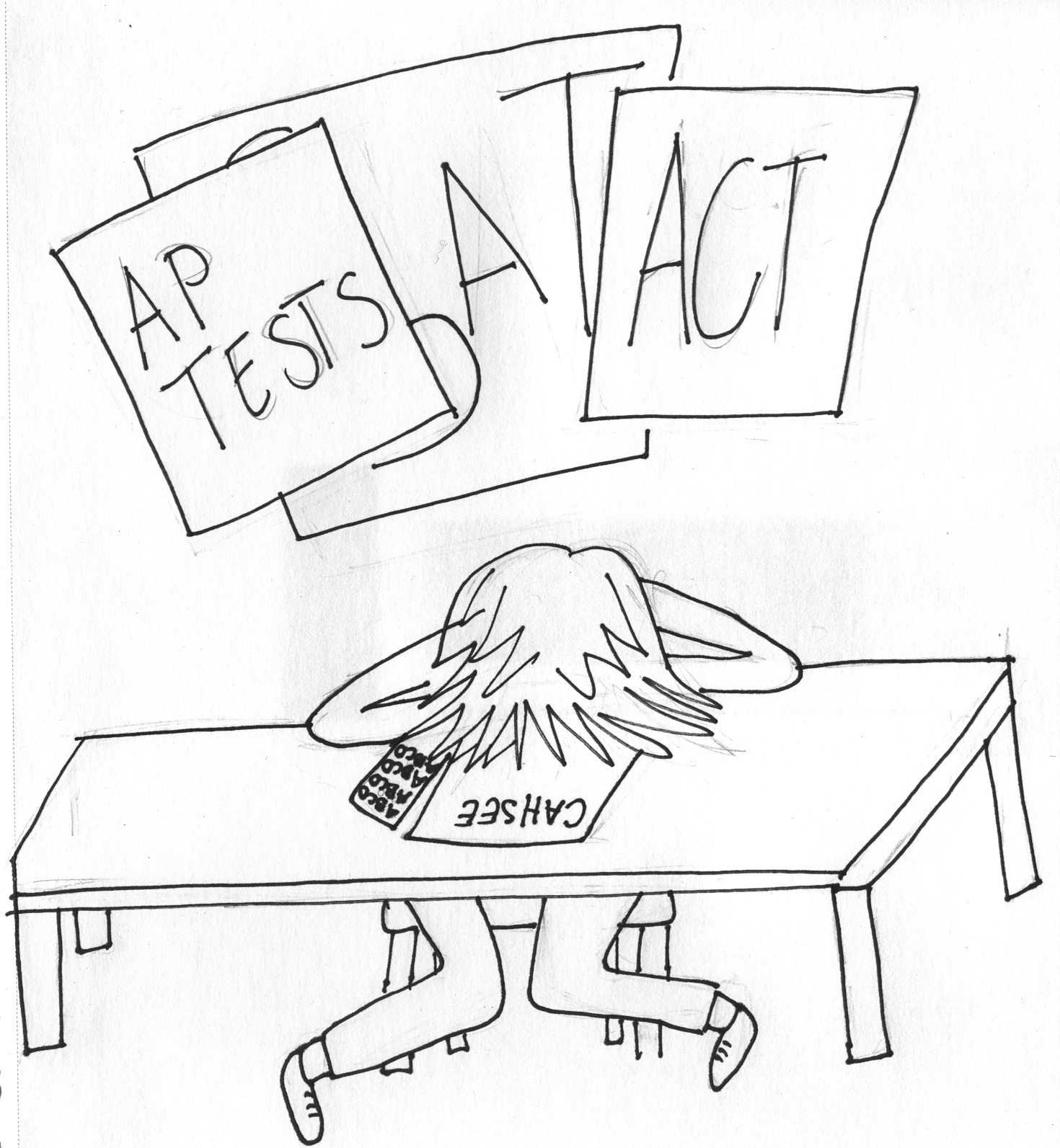 No more test stress: exit exam should not be harder