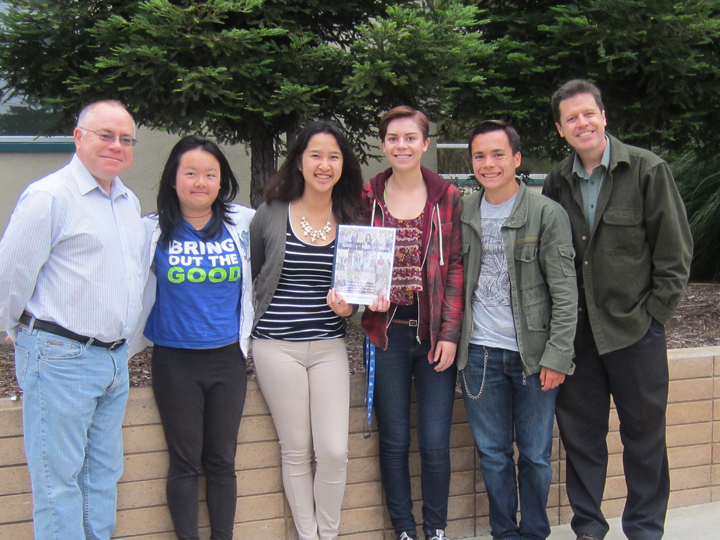 Students make history in new book