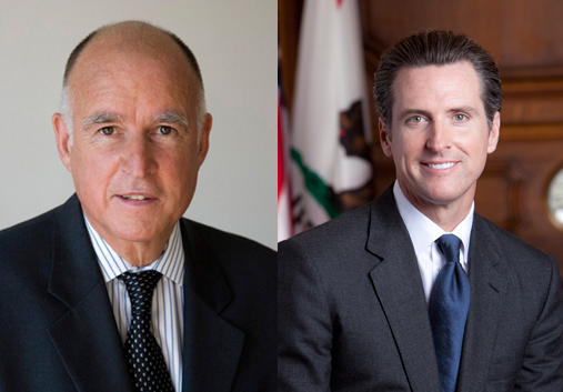 An open letter to Jerry Brown and Gavin Newsom