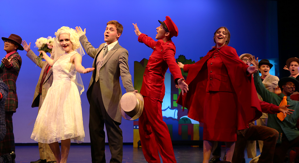 """Guys and Dolls"" takes the stage"