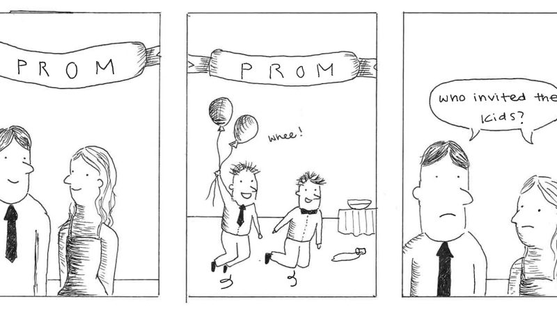 The bright side of having a combined prom