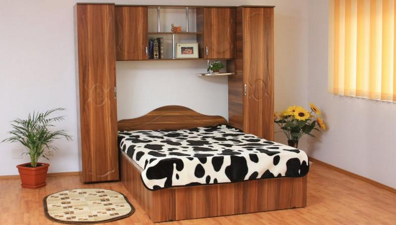 Dormitor Tineret MDF nuc Image