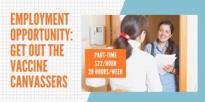 Canvasser Employment Opportunity CVIIC