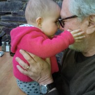 Read his interview here: http://wp.me/p18Gw9-2QP | Harry Chotiner with his granddaughter.