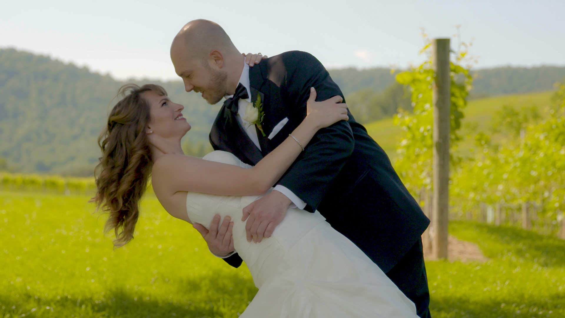 Ally & J Wedding Highlights Video at Veritas Vineyard