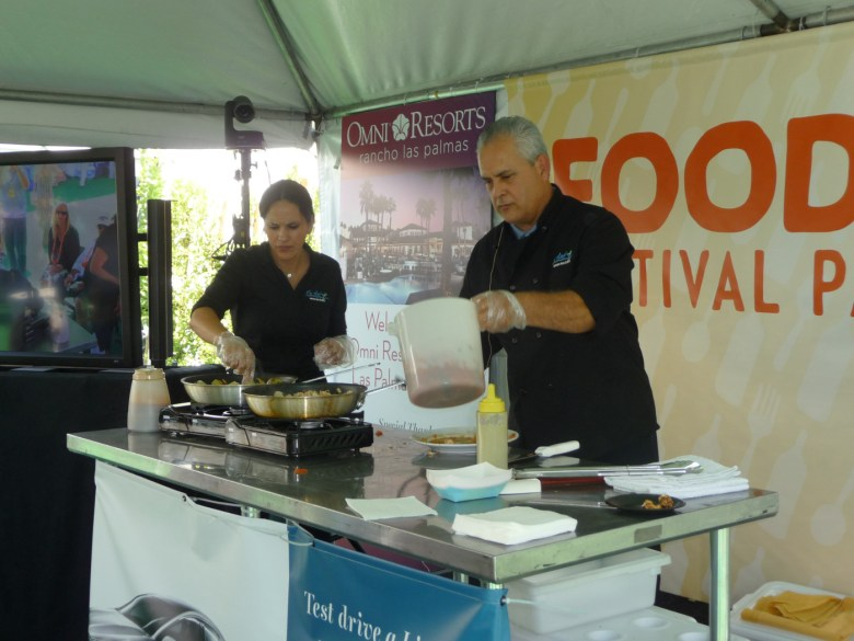 images/2014 PD Food and Wine Festival and Taste of the Saguaro/dani-and-chef-ernesto_13358497234_o