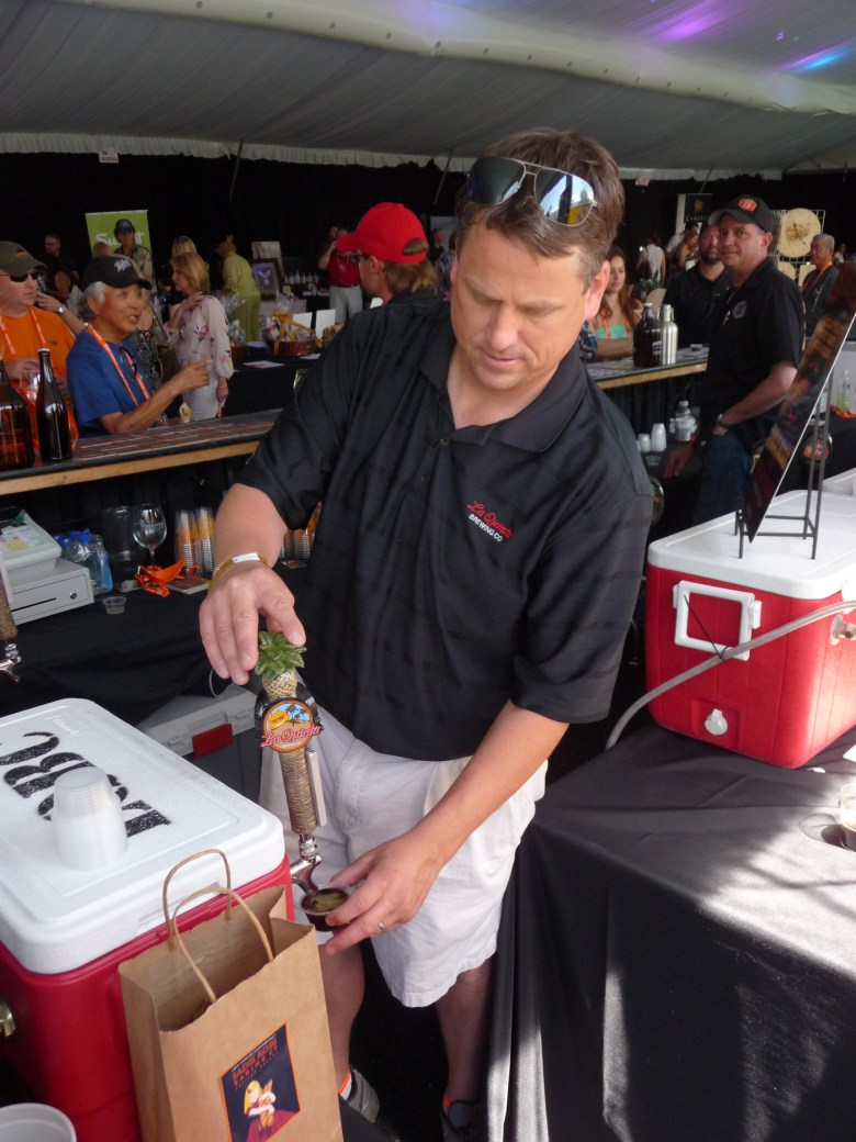 images/2014 PD Food and Wine Festival and Taste of the Saguaro/derek-lloyd-of-la-quinta-brewing-co_13358486024_o