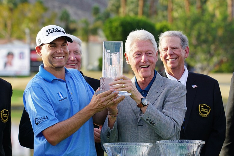 images/2015 Humana Challenge Finale/bill-haas-and-president-clinton-with-the-bob-hope-memorial-trophy_16194396960_o