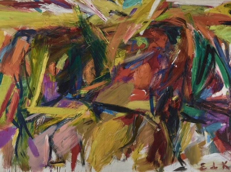 Denver Art Museum—Vance H. Kirkland Acquisition Fund, 2012. © Estate of Elaine de Kooning