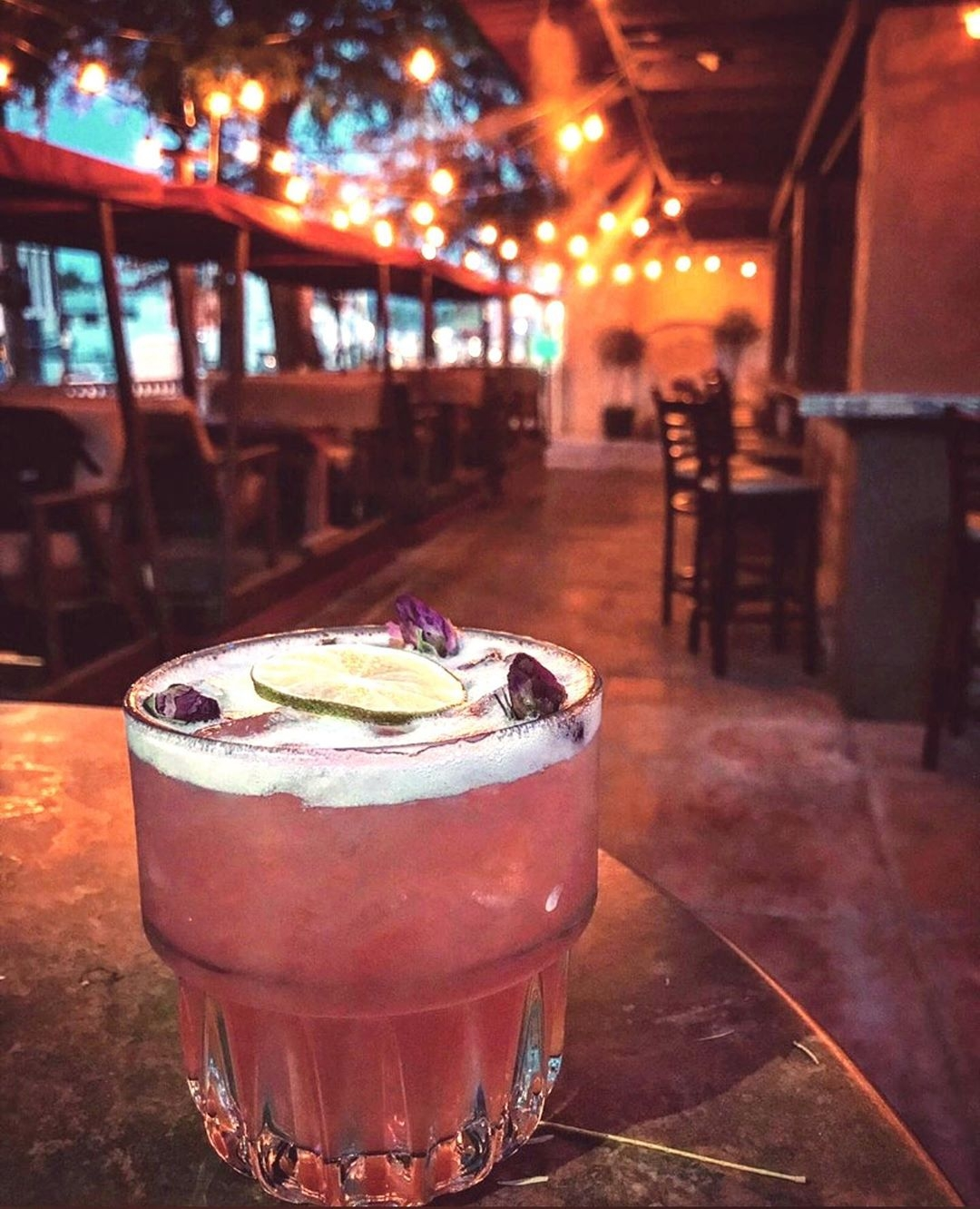 The Alibi Palm Springs just reopened its patio for outdoor dining.