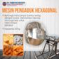 Brosur Mesin pengaduk hexagonal