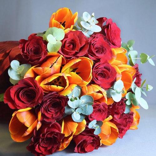 dostava-buket-cvijeća-ruže-tulipani
