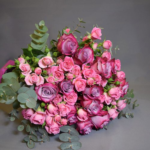 buket-ljubičaste-ruže-mini-ruže-dostava