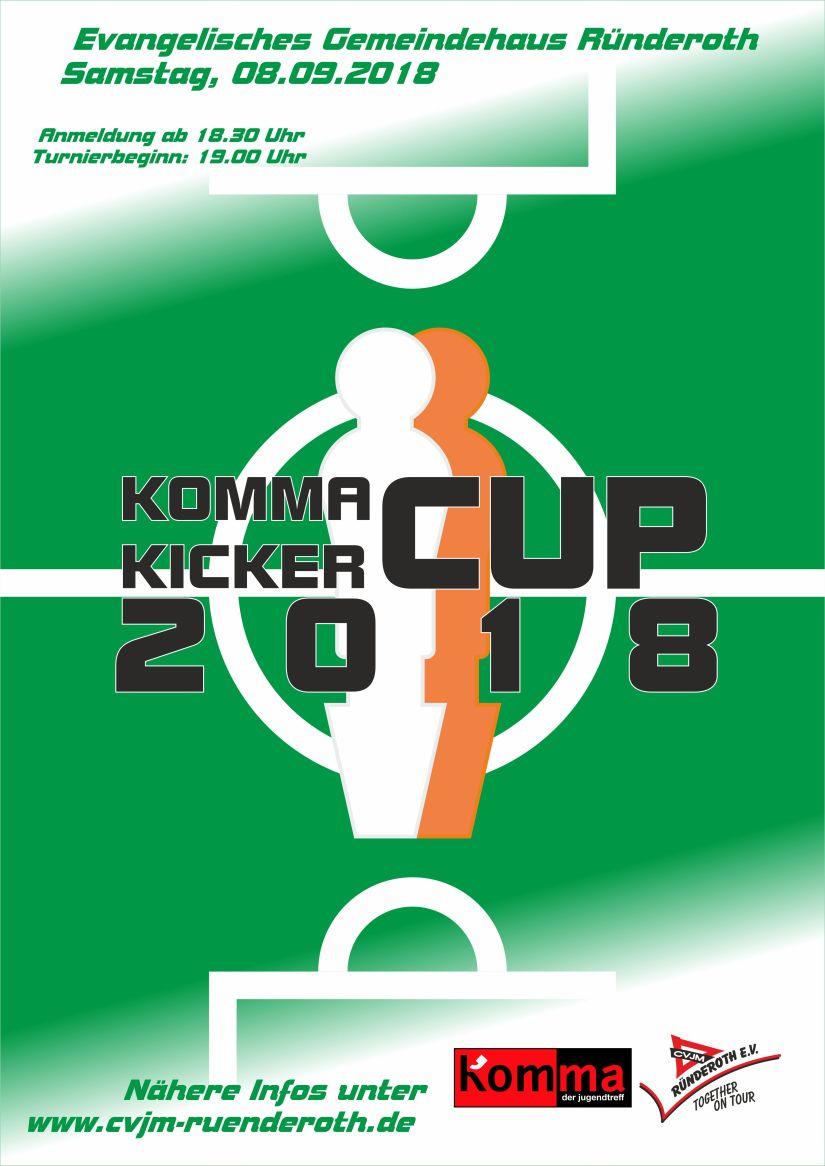 Komma Kicker Cup 2018